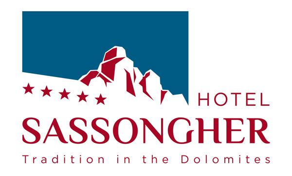 logo hotel sassongher 08.14.indd
